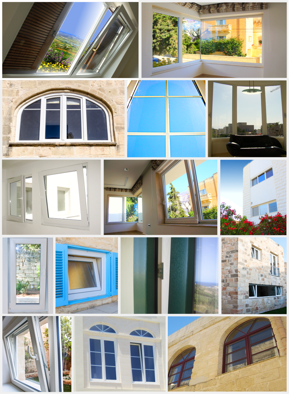 Windows Designed and Supplied by AM Projects Malta