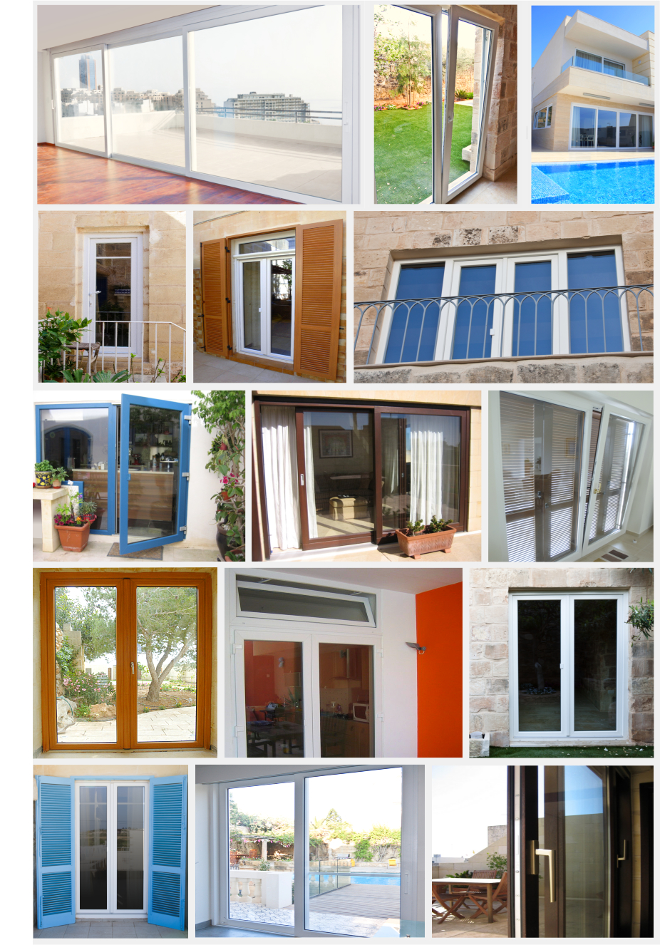Doors in Malta, Designed and Supplied by AM Projects Malta