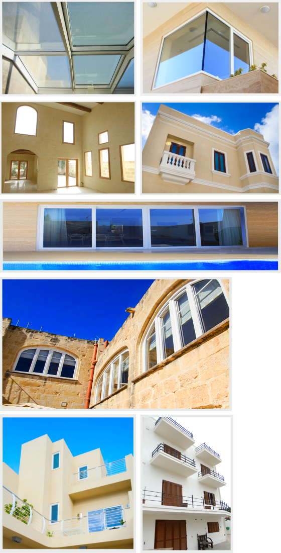 Window Projects in Malta by AM Projects Malta